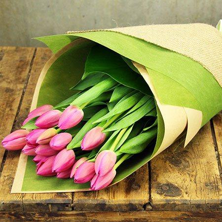 Pretty Tulip Bouqet - FREE Bonus Stems (Sydney Only)