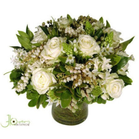 Pretty White Posy