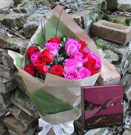 Raspberry Roses & Truffles