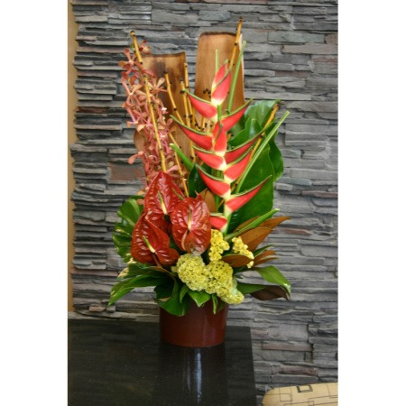 Reception Desk - Corporate Flowers