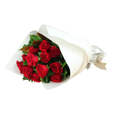 One Dozen Columbian Red Roses Delivery for Xmas