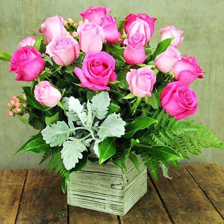 Pink Roses (Sydney Only)