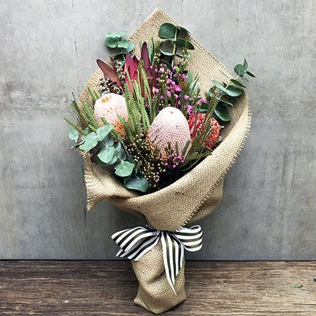 Rustic Native Bouquet Perth Only