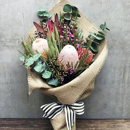 Rustic Native Posy Exclusive Sydney Special