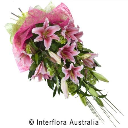 SA63 VIVIENNE Elegant Sheaf of Lilies