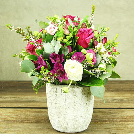 Spring Sophisticate Fresh Flower Pot Delivered Sydney