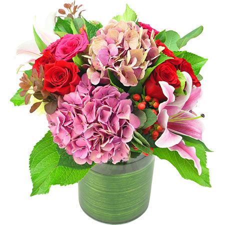 Summer Love Flower Vase Delivered in Sydney