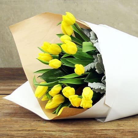 Bright Tulips Delivered