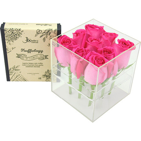 Sweet Chocolate Rose Box