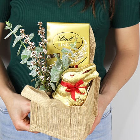 Sweet Gold Easter Bag