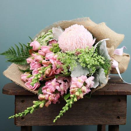 Pink Seasonal Summer Bouquet