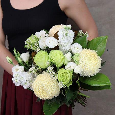 The Bonny White Bouquet