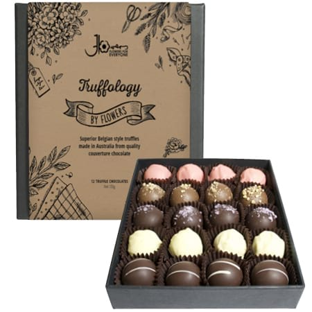 Truffology 20 Assorted Choc Truffles (Contains Alcohol)