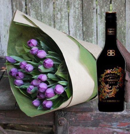 Tulips & Chocolate Baileys (Sydney Only)