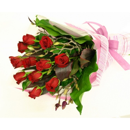 Red Rose Bouquet - Flowers