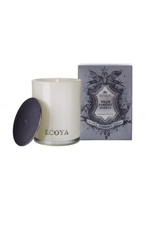 Warm Bonfire Nights Ecoya Xmas Soy Wax Candle (80 hr burn)
