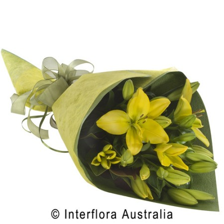 WS106 Abby Wrapped Lilies