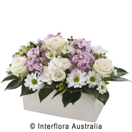 WS115 Marisa Pastel Arrangement in Ceramic Container