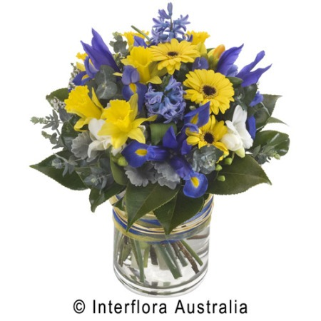 WS123 Jeanette Mixed Seasonal Bouquet