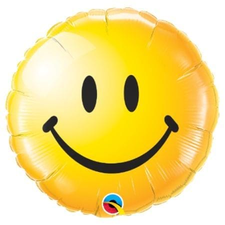 Yellow Smiley Balloon
