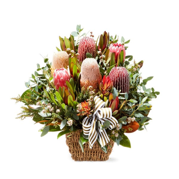 Australiana Flower Basket