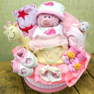 Baby Girl Hamper Large Baby Gift Arrangement