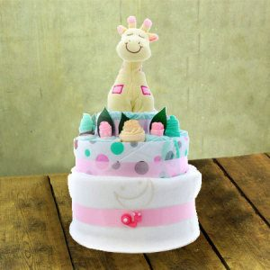 Baby Girl Nappy Cake Perth Only