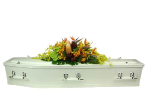 Bird of Paradise Casket Flowers