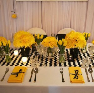 Black, Yellow & White Theme