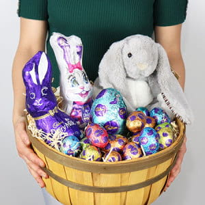 Bright Easter Chocolate Hamper