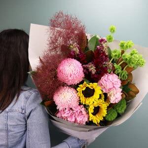 Bright Seasonal Summer Bouquet