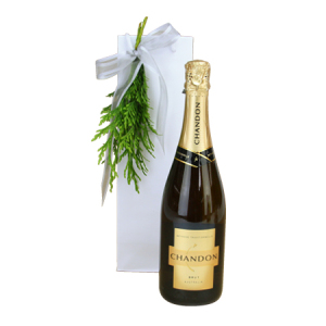 Gift Wrapped Chandon Sparkling Wine Delivered for Xmas in Australia