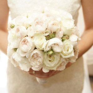 Large Clustered Bridal Bouquet