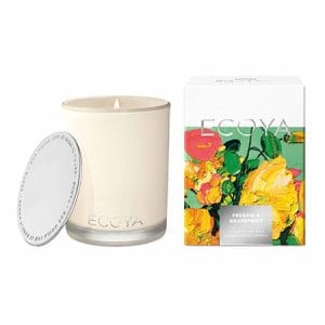 ECOYA Freesia and Grapefruit Candle 80hr
