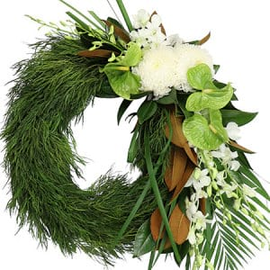 Evergreen Eternity Funeral Wreath