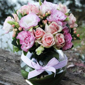 Pastel Pink Flower Arrangement
