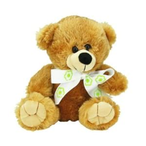 Flowers Brown Bear 20cm