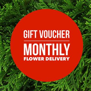 Gift Voucher - Monthly Flower Delivery (Sydney Only)