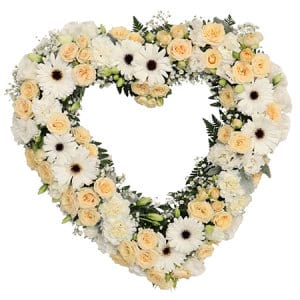 Graceful Heart Floral Funeral Tribute Delivered Sydney