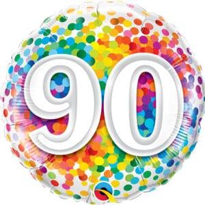 Happy 90th Birthday Balloon