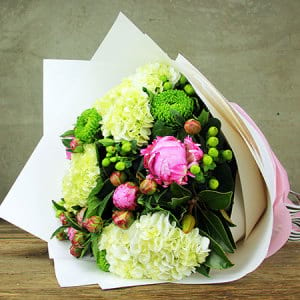 Heavenly Peonies and Hydrangea Delivered Sydney