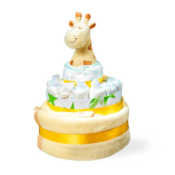 Lemon Drop Nappy Cake