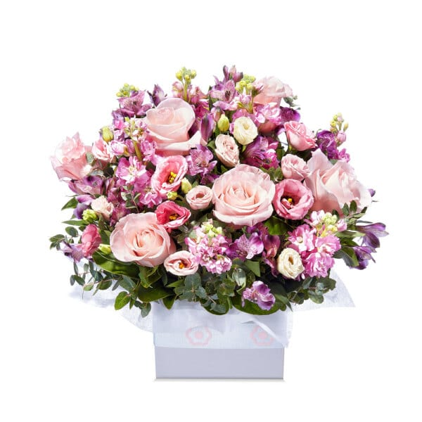 Lilac Pink Bloom Box