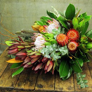 Native Floral Sheaf Sympathy Flowers For Everyone
