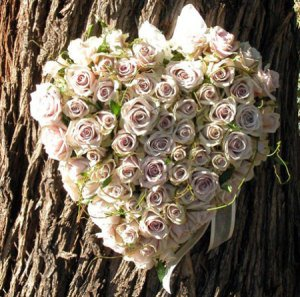 Love Heart Rose Decoration