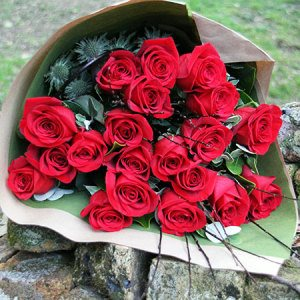 Lucky Red Roses