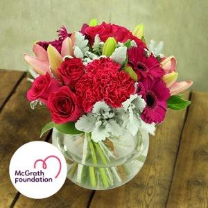 McGrath Foundation Think Pink Vase