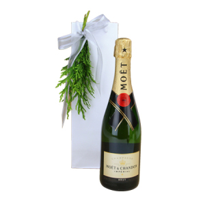 Moet Delivered for Xmas in Australia