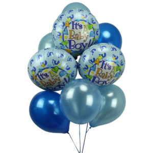 It S A Boy Balloon Bouquet Flowers For Everyone