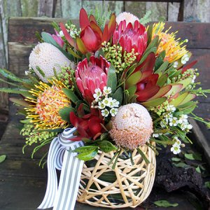 Australian Native Flowers Delivery Autumn Artificial